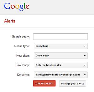 google alerts for auto dealerships