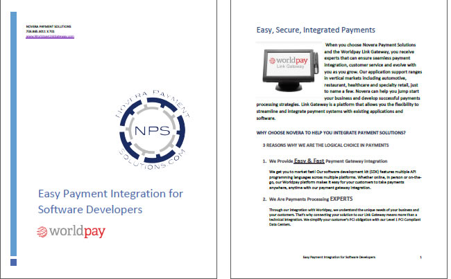 WorldPay Integrated Payments